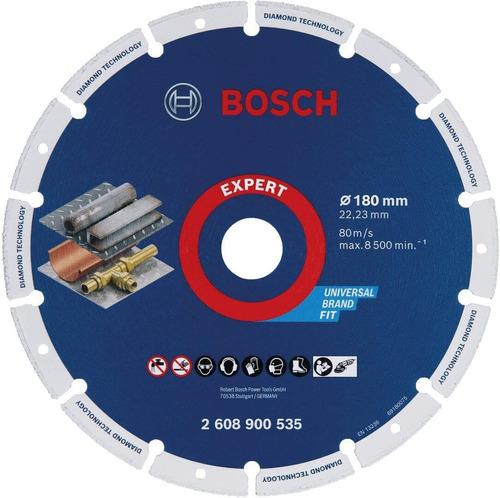 Disco Diamantado Original Bosch Para Metal 180mm Expert