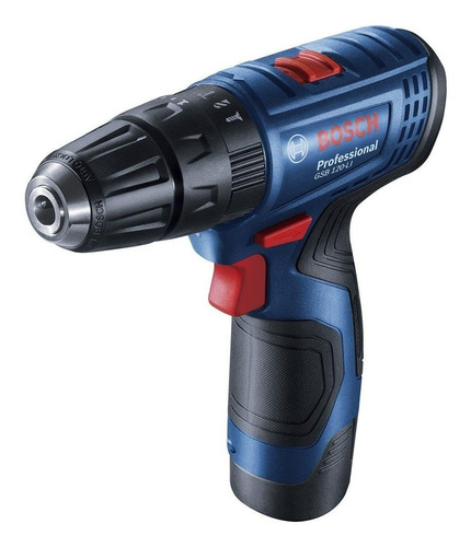 Furadeira Elétrica De Impacto E Parafusadeira Bosch Professional Gsb 120-li Sem Fio 1500rpm Azul 127v/220v 12v