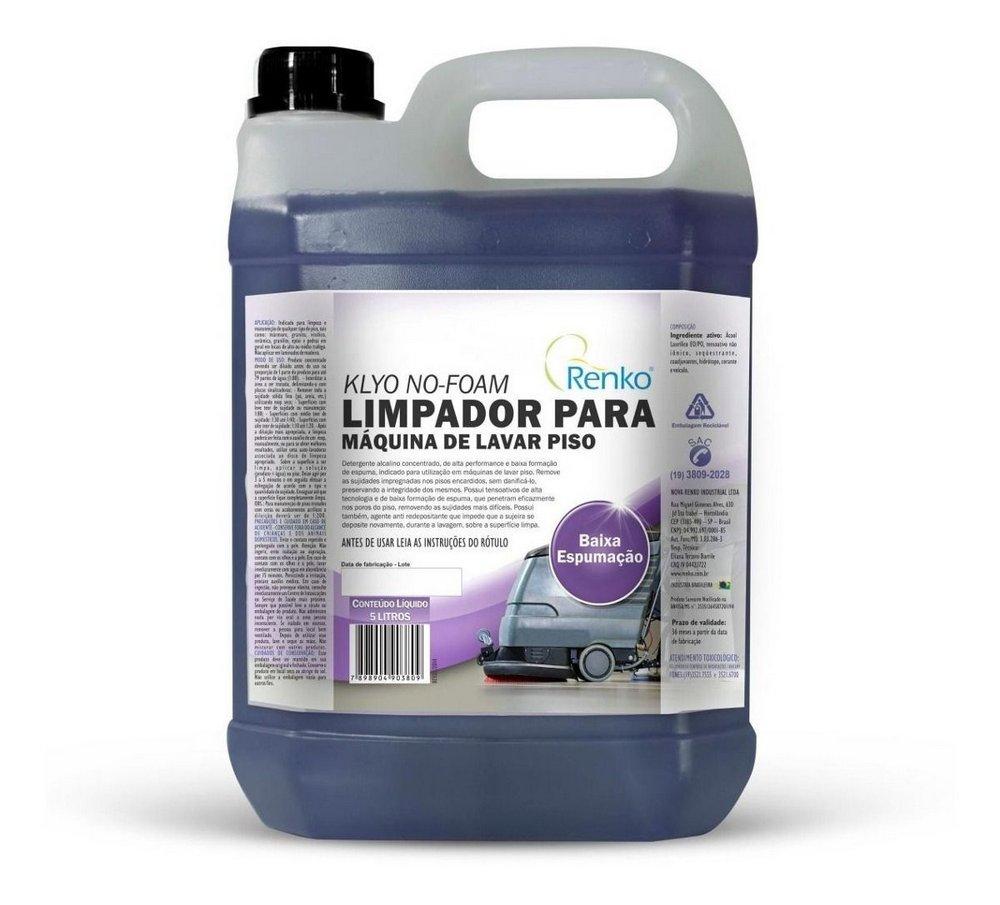 LIMPADOR P/ MAQUINAS DE LAVAR PISO 5 LT RENKO