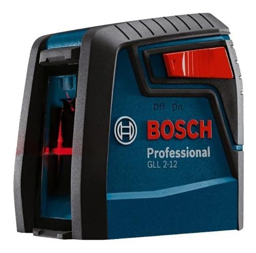 Nivel A Laser Modelo Gll 2-12 Vermelho Bosch Original
