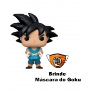 1 Funko POP Animation DBZ Goku World Tournament + Brinde 1 Máscara Goku