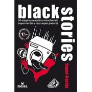 Black Stories - Super-Heróis - Card Games