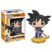 Boneco Funko Pop Anime Dragon Ball Goku & Flying Nimbus 109