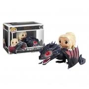 Boneco Funko Pop Game Of Thrones Got Daenerys & Drogon 15