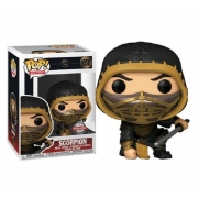 Boneco Funko Pop Mortal Kombat Scorpion Metallic 1058