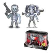 Boneco Metals Die Cast Suicide Squad The Joker Boss e Harley Quinn