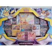 Coleção Pokemon Especial Pikachu - GX e Eevee - GX