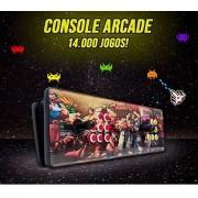 Console Arcade / Fliperama - 14.000 Jogos e 2 Controles