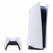 Console PS5 - Playstation 5 - 1 Controle Sem Fio Branco - SSD Ultrarrápido - Áudio 3D