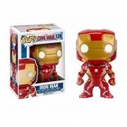 Funko Pop 126 Iron Man Civil War