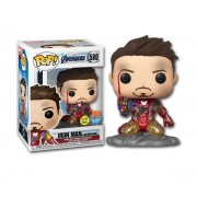 Funko Pop 580 Iron Man I Am Iron Man Exclusive Glows in Dark