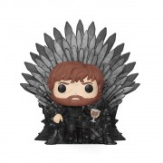 Funko Pop Deluxe: GOT S10 - Tyrion Sitting on Iron Throne