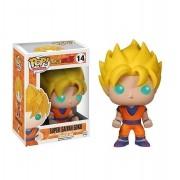 Funko Pop Dragon Ball Z - Super Saiyan Goku 14 Glows in The Dark