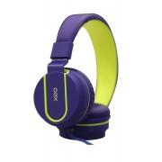 Headset Fluor Azul e Verde