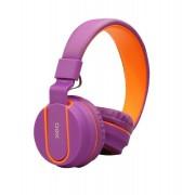 Headset Fluor Roxo e Laranja