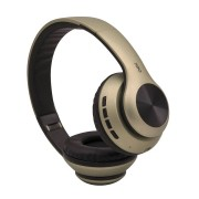 Headset  Glam Bluethooth Dourado