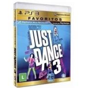Jogo Novo PS3 Just Dance 3 Favoritos