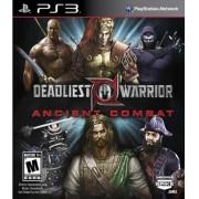 Jogo PS3 NOVO Deadliest Warrior: Ancient Combat