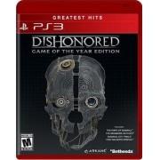 Jogo PS3 NOVO Dishonored: G.O.T.Y LATAM