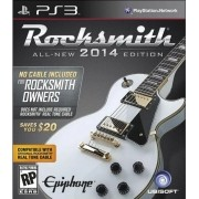 Jogo PS3 NOVO Rocksmith 2014 (Sem Cabo)