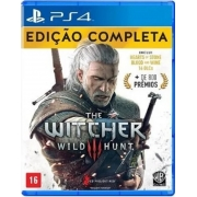 Jogo PS4 The Witcher 3 Complete Edition