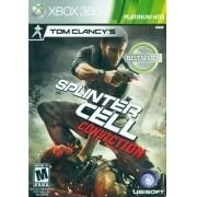 Jogo Xbox 360 NOVO Tom Clancys Splinter Cell Conviction