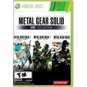 Jogo XBOX 360 Usado Metal Gear Solid HD Collection
