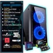 PC Gamer 3 - Intel Core I3 9100f-Placa Vídeo GTX 1650 4GB GDD5-SSD 120GB-8GB DDR4 Gamer Version-1TB HD-Fonte Led