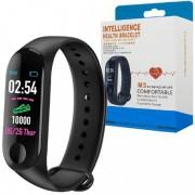 Pulseira Inteligente Monitor Cardíaco e Pressão 4.0 Mex - M3