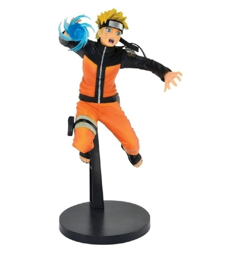 Action Figure Naruto Vibrationns Starts Uzumaki Naruto (Semi-Novo)
