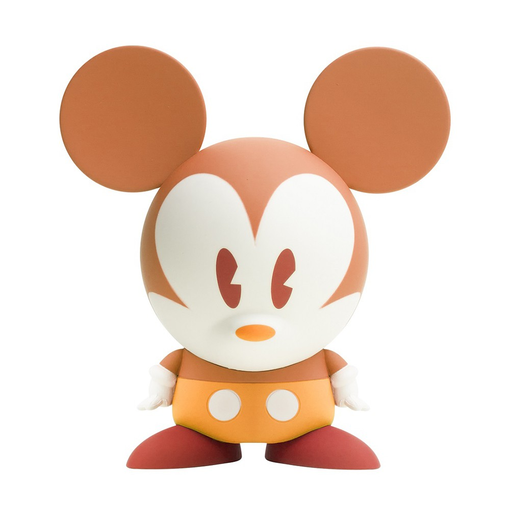 Action Figure Shorts  Mickey Orange