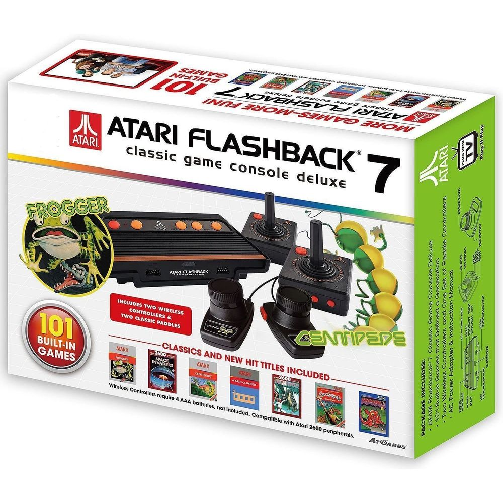 Atari Flashback 7 classic game 101 jogos com 2 controles