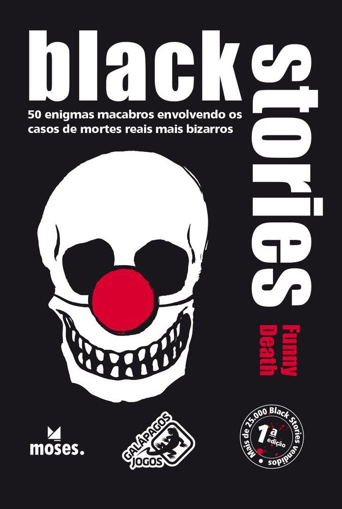Black Stories - Funny Death - Card Games