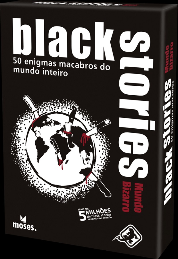 Black Stories - Mundo Bizarro - Card Games