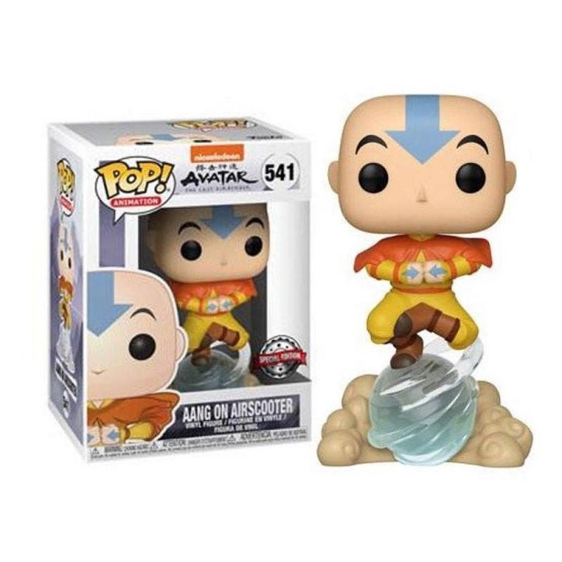 Boneco Funko Pop Anime Avatar Aang Na Esfera De Ar 541