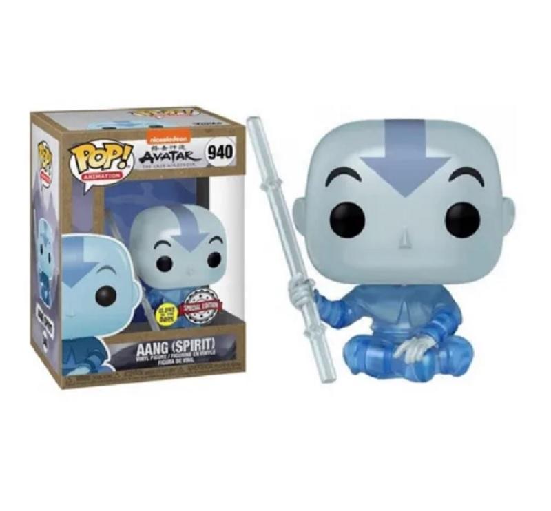 Boneco Funko Pop Avatar Aang Spirit Glow 940