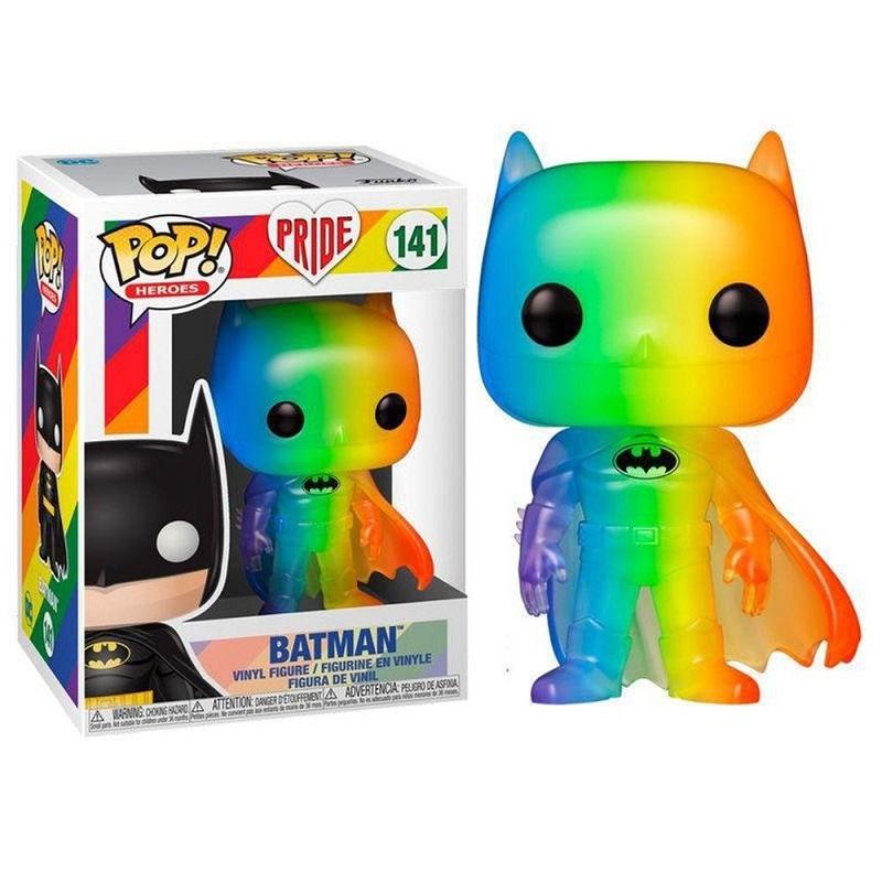Boneco Funko Pop Dc Super Heroes Batman Pride 141