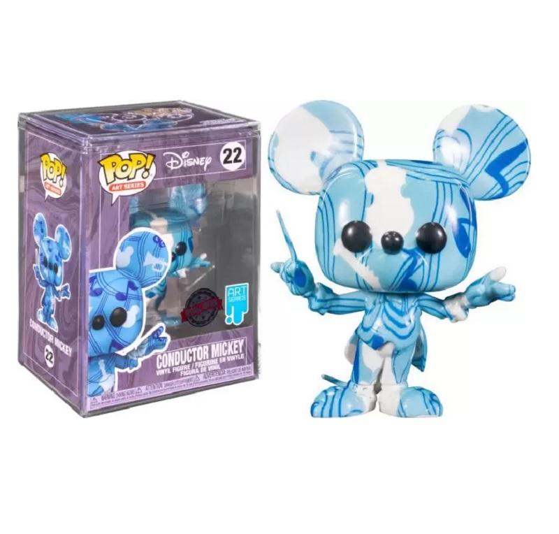 Boneco Funko Pop Disney Artist Mickey Conductor 22