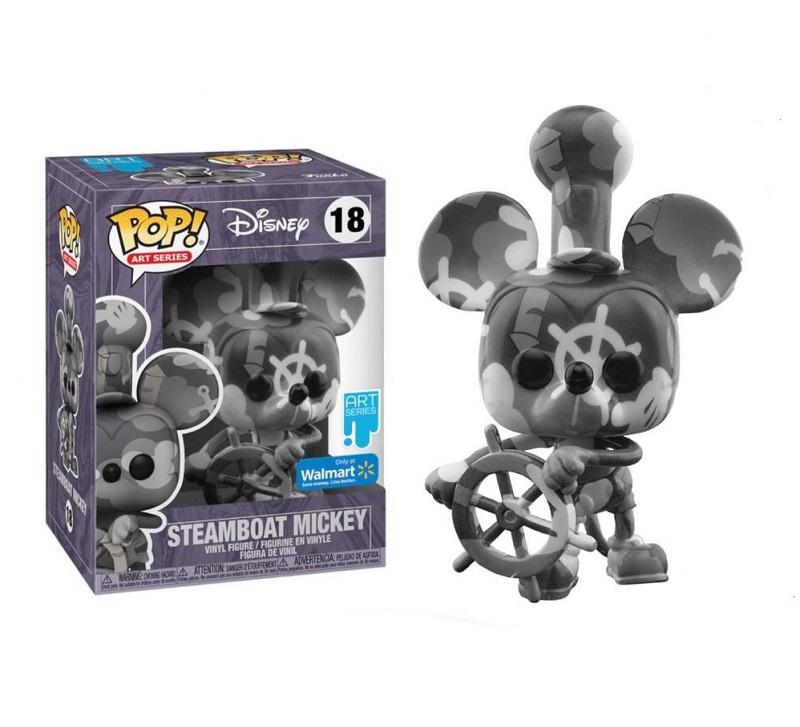 Boneco Funko Pop Disney Artist Mickey Steamboat 18