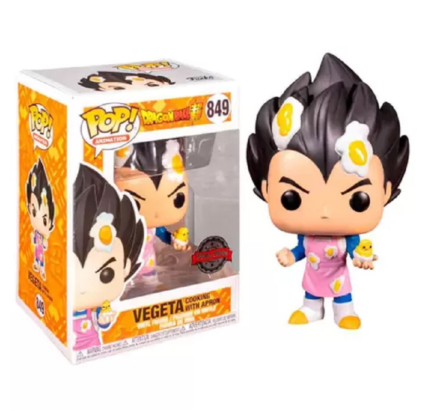 Boneco Funko Pop Dragon Ball Super Vegeta Cozinhando 849