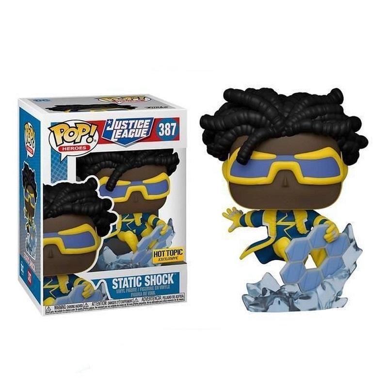 Boneco Funko Pop Liga Da Justiça Super Choque 387