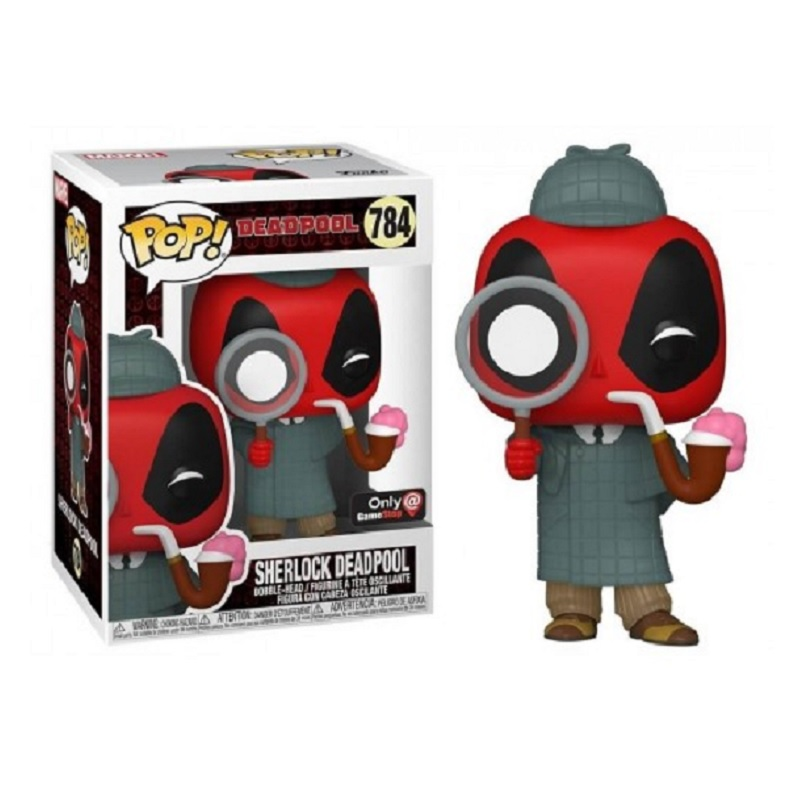 Boneco Funko Pop Marvel Deadpool 30th Sherlock 784