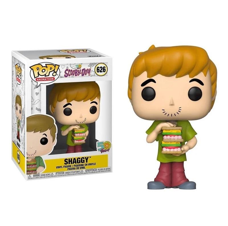 Boneco Funko Pop Scooby-doo Salsicha Com Sandwich 626