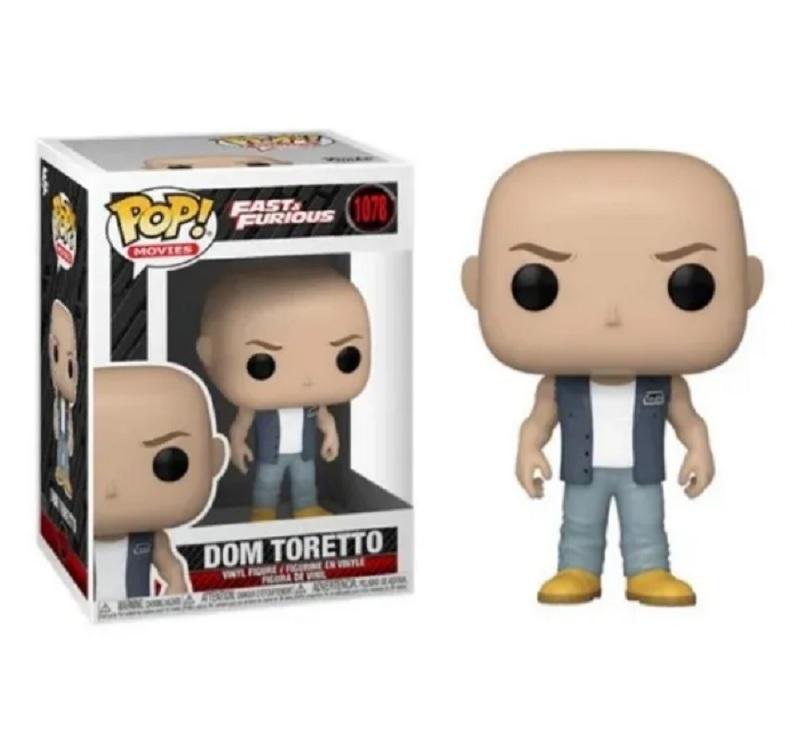 Boneco Funko Pop Velozes E Furiosos Dom Toretto 1078