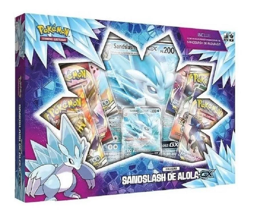 Box Pokemon Sandslash de Alola - GX