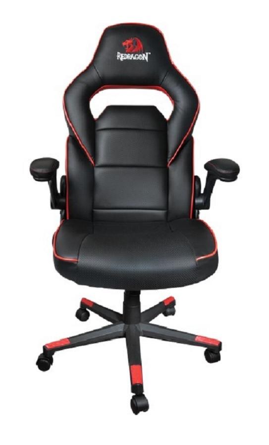 Cadeira Gamer Redragon Assassin C501 - Preta e Vermelha