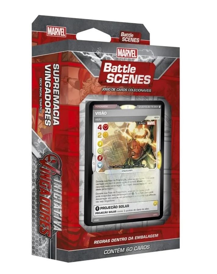 Card Marvel - Battle Scenes Iniciativa Vingadores - Supremacia Vingadores