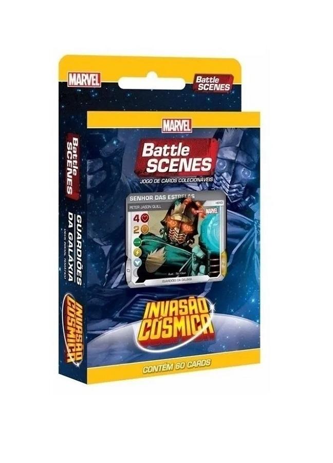 Card Marvel - Battle Scenes Invasão Cósmica - Guardiões da Galáxia