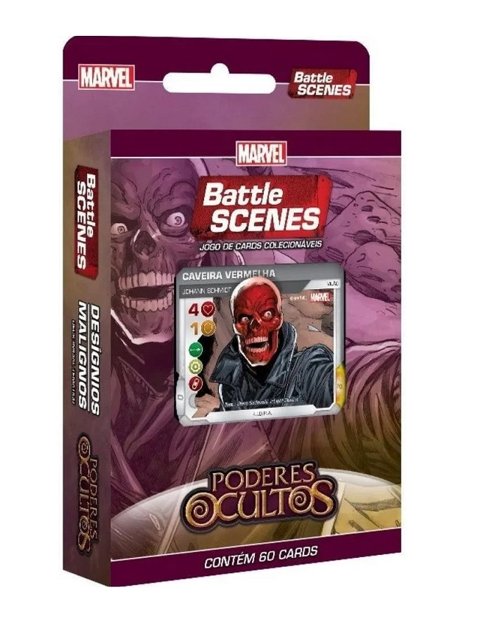 Card Marvel - Battle Scenes Poderes Ocultos - Desígnios Malígnos