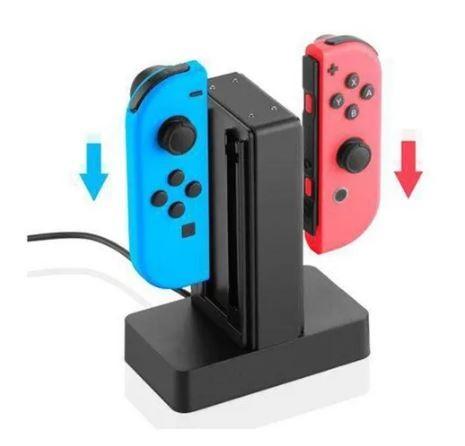Carregador Para Joy-con Charge Stand Nintendo Switch